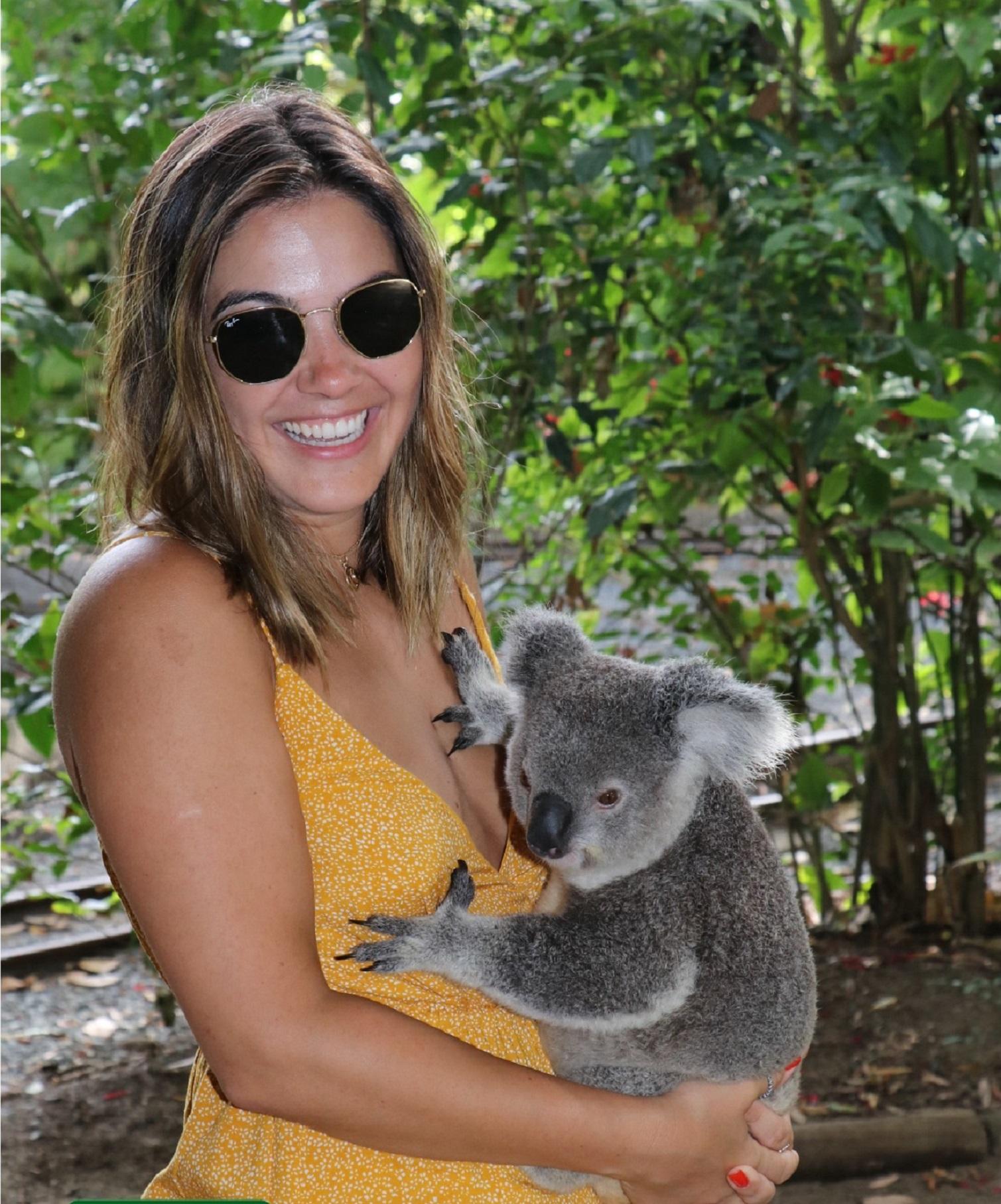 Look do Dia Vestido Amarelo, Look Vestido amarelo, look vestido, look do dia, look de praia, look pra usar na praia, look Austrália, looks Austrália, look do dia austrália