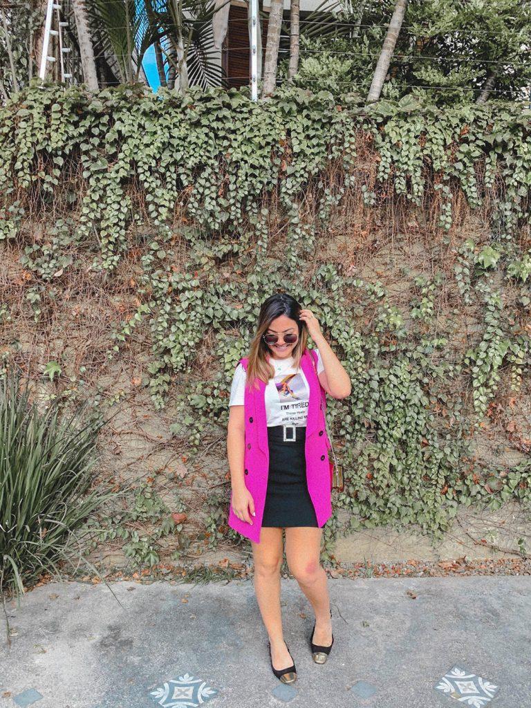 look colete rosa, look do dia colete rosa, colete rosa, look colete zara, look do dia colete zara, look zara, look do dia zara, look do dia zara colete, como usar colete rosa