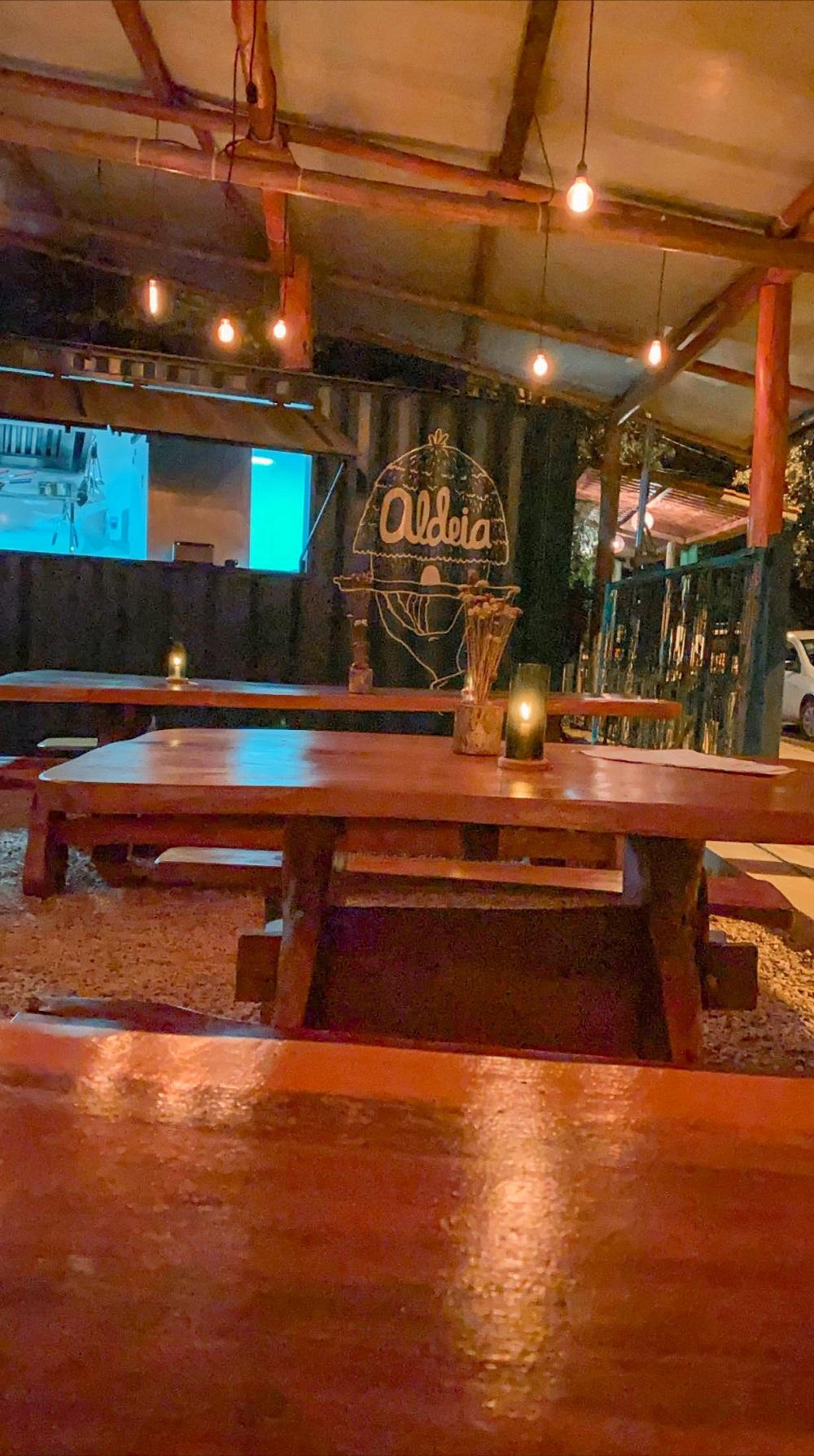 restaurante aldeia chapada dos veadeiros