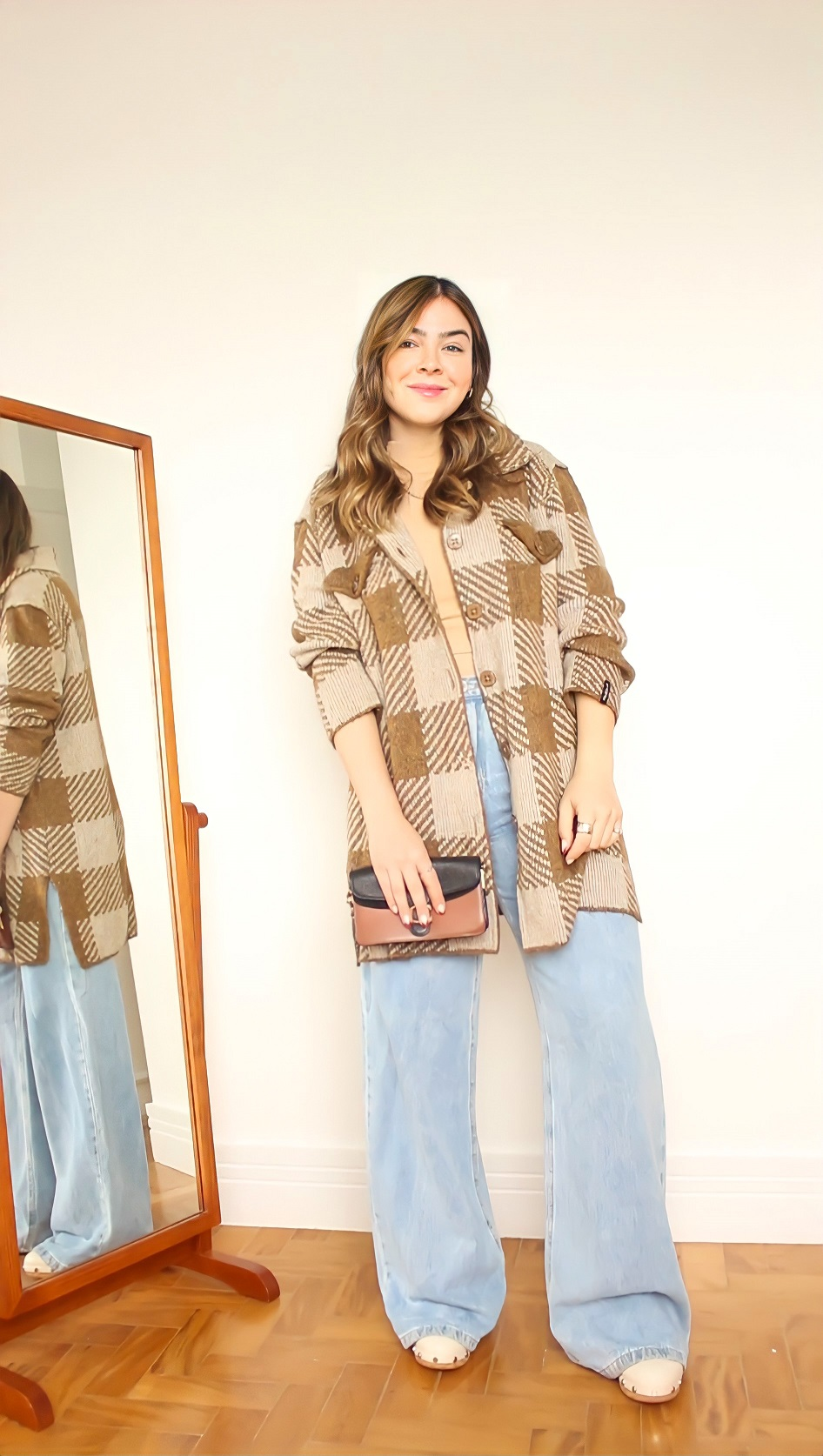 4 Looks de Inverno, Look Casaco Teddy, Look Blazer Bege, Look Casaco de Lã,Look Jeans Blazer Preto